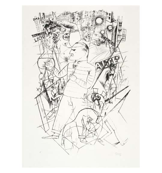 Street Life: Weimar Works on Paper, 1918–1933