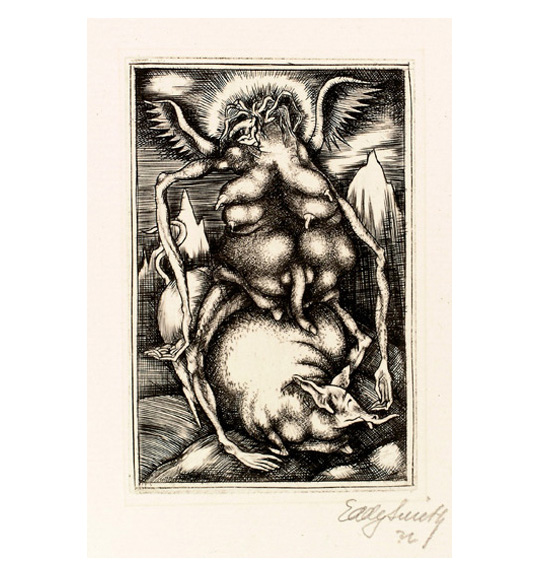 Eddy Smith: The Foundation of the 20th Century & Etchings from The Black Portfolio