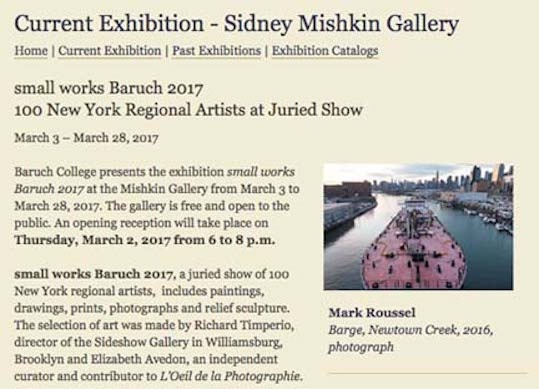 Sidney Mishkin Gallery