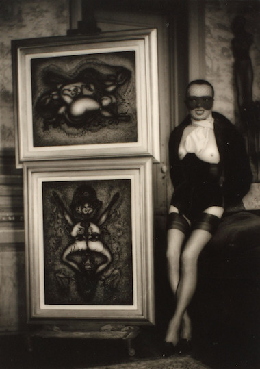 HANS BELLMER & PIERRE MOLINIER FEATURED IN A REVIEW OF STUX GALLERY'S VIEWER DISCRETION… CHILDREN OF BATAILLE