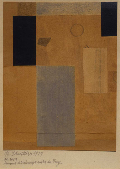 KURT SCHWITTERS, REMIX: SELECTIONS FROM THE INTERNATIONAL COLLAGE CENTER, KATONAH MUSEUM OF ART