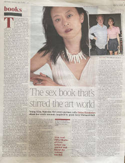 INTERVIEW WITH YOUNG KIM: LONDON TIMES
