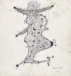 UNICA ZÜRN, THIS STRANGE PRESENCE, MICHAEL C. CARLOS MUSEUM, EMORY UNIVERSITY