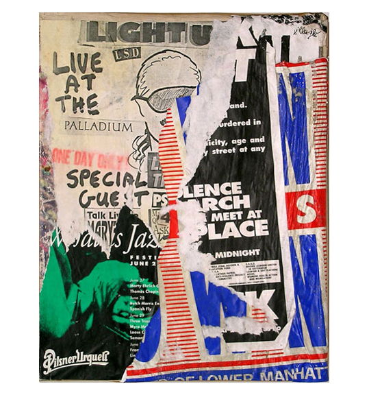 Jacques Villeglé: Fifty Years of Décollage