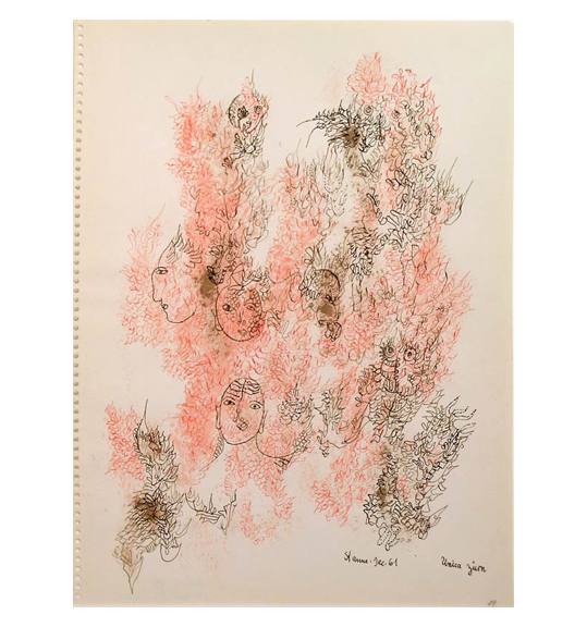 Unica Zürn: Drawings from the 1960s